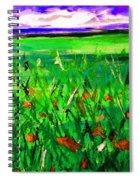 Papaveri Spiral Notebook