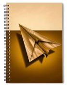 Paper Airplanes Of Wood 1 Spiral Notebook