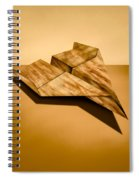 Paper Airplanes Of Wood 5 Spiral Notebook