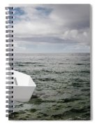 Paper Boat Spiral Notebook