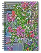 Paper Flowers Spiral Notebook