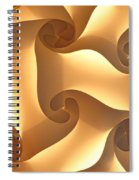 Paper Lantern Abstract Spiral Notebook