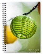 Paper Lanterns Spiral Notebook