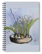 Paperwhites Spiral Notebook