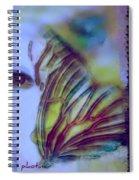 Papillon Bleu Spiral Notebook