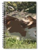 Papillon In Flight Spiral Notebook