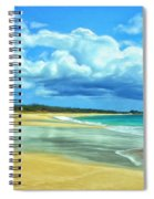 Papohaku Beach Molokai Spiral Notebook