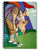 Par For The Course Spiral Notebook