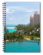 Paradise And Atlantis Spiral Notebook