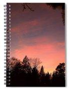 Paradise At Dusk Spiral Notebook