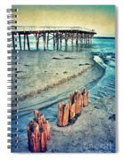Paradise Cove Pier Spiral Notebook