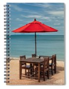 Paradise Dining Spiral Notebook