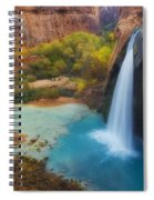 Paradise Falls Spiral Notebook