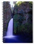 Paradise Pours Wanclella Falls Oregon Spiral Notebook