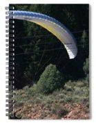 Paragliding Hazards Spiral Notebook