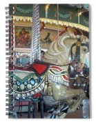 Paragon Carousel Nantasket Beach Spiral Notebook