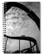 Parallel Lines Composition Spiral Notebook