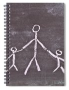 Parent And Children Spiral Notebook
