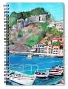 Parga In Greece Spiral Notebook