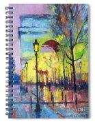 Paris Arc De Triomphie  Spiral Notebook