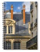 Paris Architecture Spiral Notebook