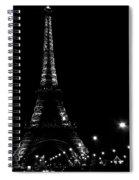 Paris At Night Spiral Notebook