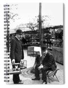 Paris Bird Vendors, 1900 Spiral Notebook