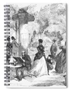 Paris: Boulevard, 1872 Spiral Notebook