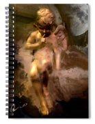 Paris Cherub Spiral Notebook