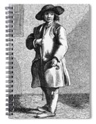 Paris Chimney Sweep, C1740 Spiral Notebook