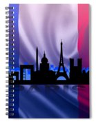 Paris City Spiral Notebook