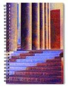 Paris Columns Spiral Notebook