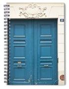 Paris Door Spiral Notebook
