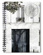 Paris Fiction Spiral Notebook