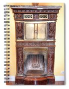 Paris Fireplace Spiral Notebook