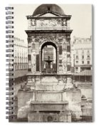 Paris Fountain, C1858 Spiral Notebook