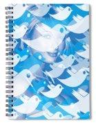 Paris Hilton Twitter Spiral Notebook