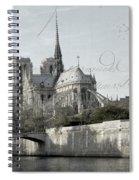 Paris History Spiral Notebook