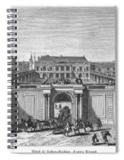 Paris Hotel Spiral Notebook