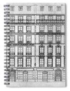 Paris Houses, 1841 Spiral Notebook