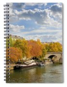 Paris In Autumn Spiral Notebook