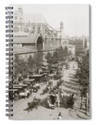 Paris: Les Halles, C1900 Spiral Notebook