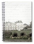Paris Lore Spiral Notebook