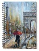 Paris Lovers II Spiral Notebook