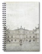 Paris Luxembourg Spiral Notebook