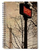 Paris Metro Spiral Notebook