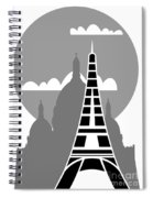 Paris Spiral Notebook