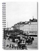 Paris Montparnasse, C1900 Spiral Notebook