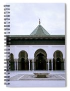 The Paris Mosque Spiral Notebook
