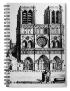 Paris Notre Dame, 1699 Spiral Notebook